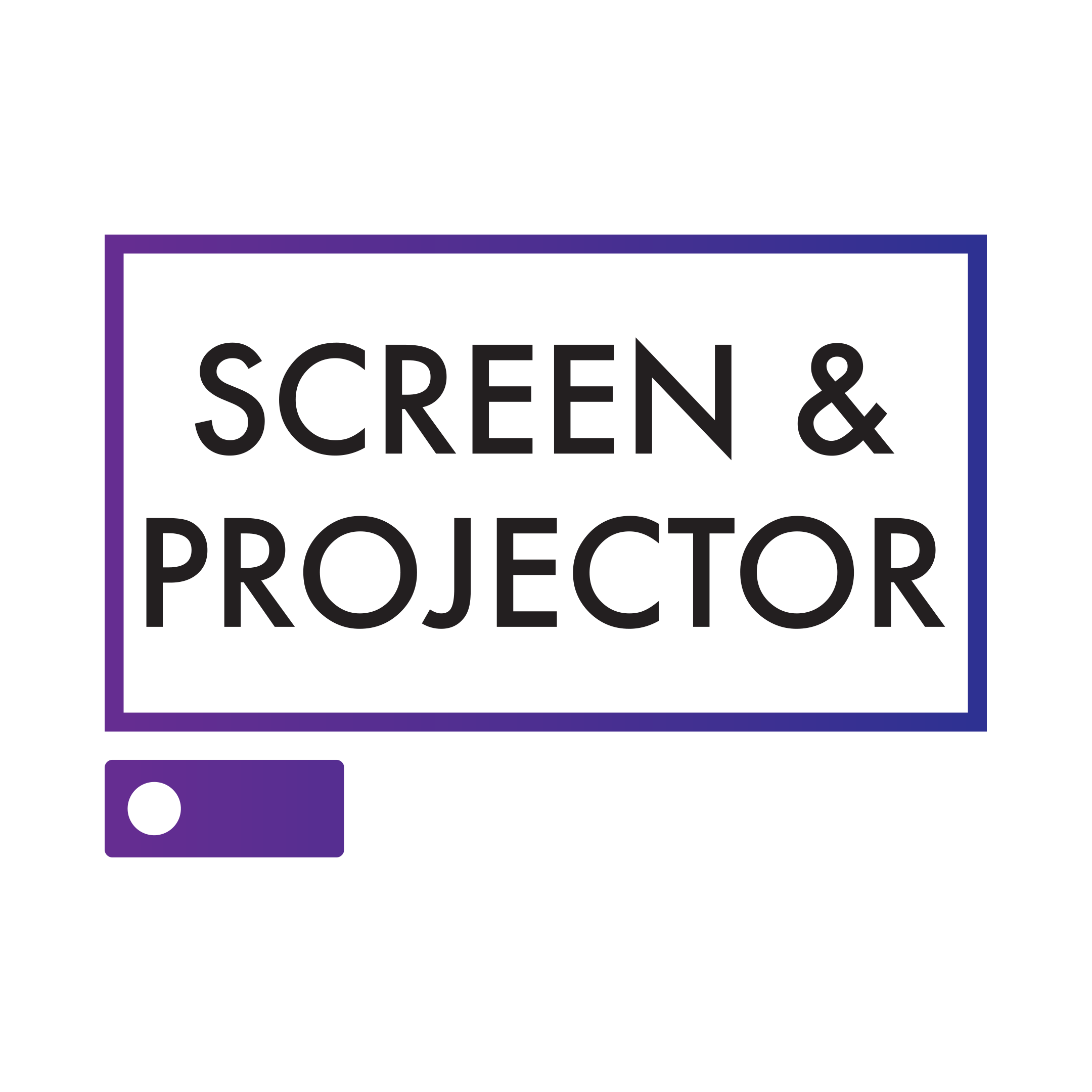 Screen & Projector